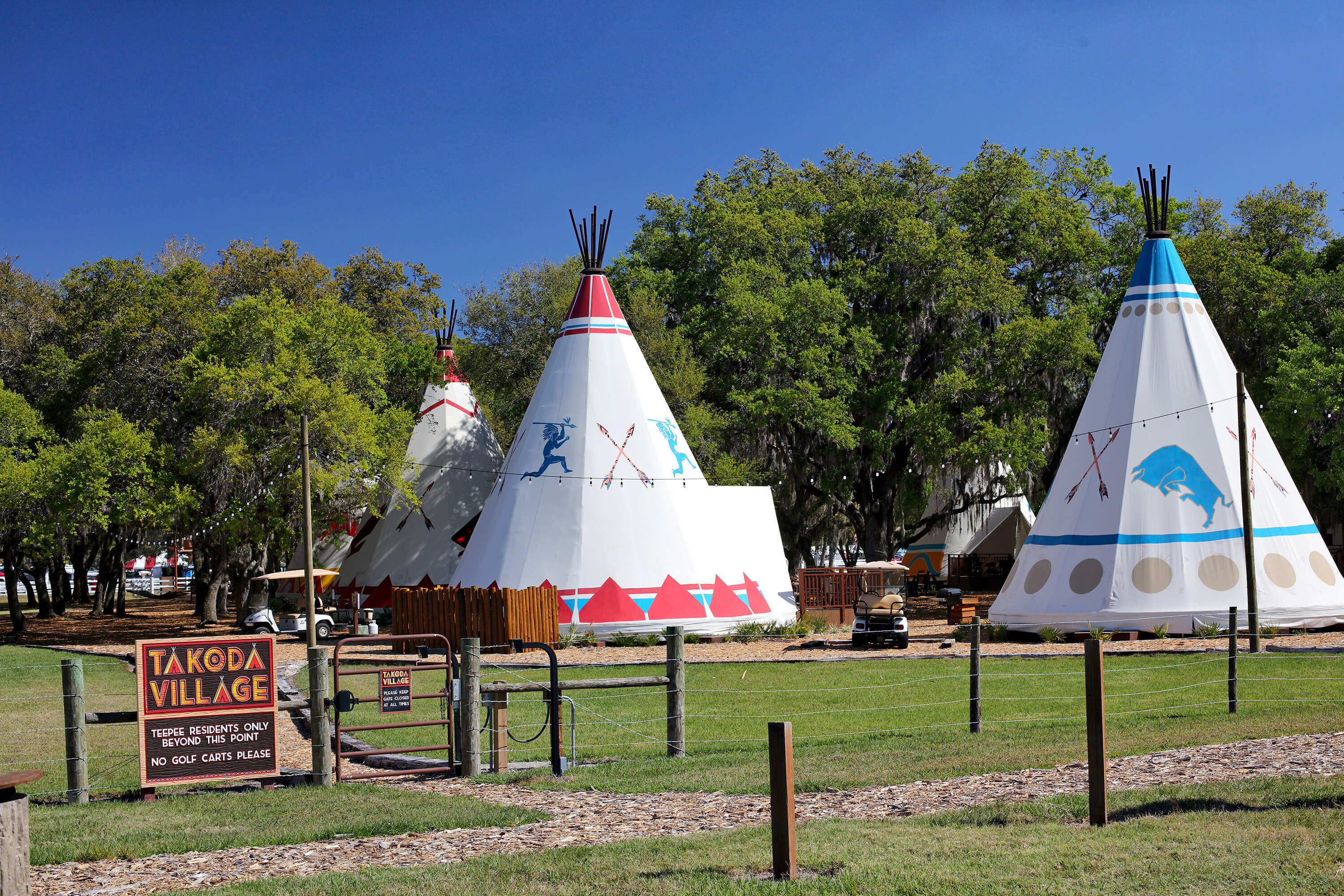 Takoda Village with Luxe Teepees | Westgate River Ranch Resort & Rodeo