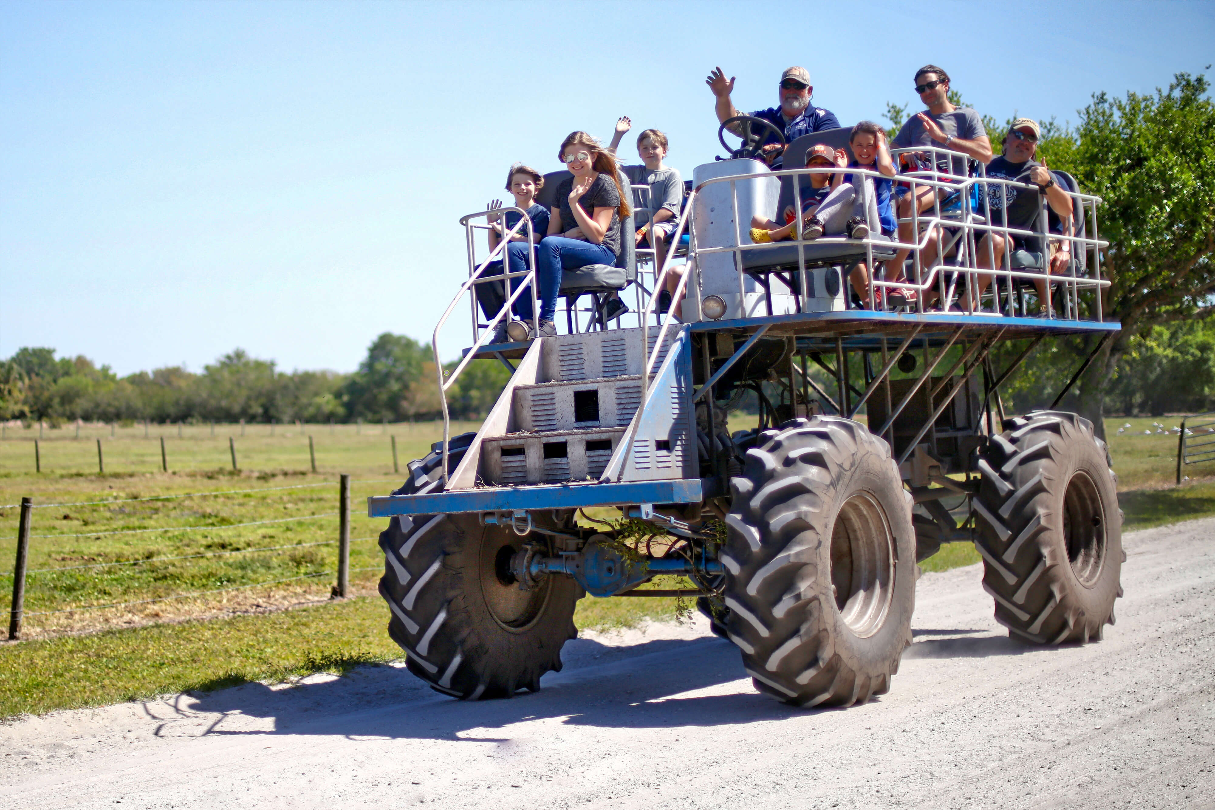 Family taking Swamp Buggy Ride | Westgate River Ranch Resort & Rodeo | Westgate Resorts