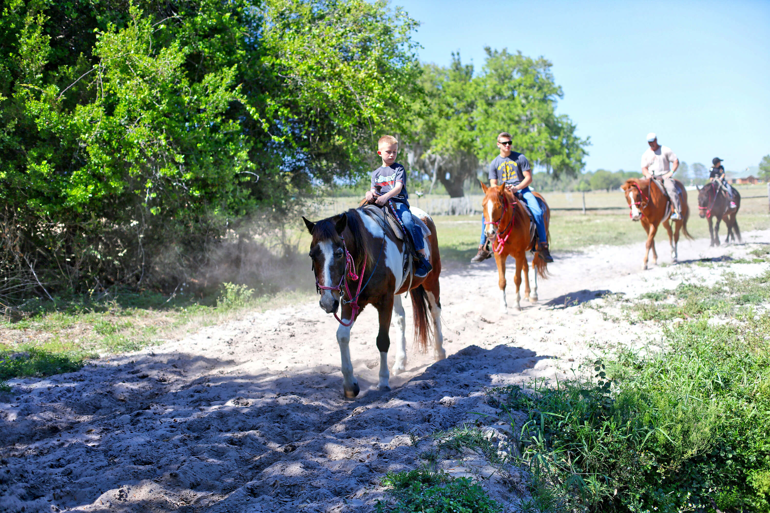 Horseback riding along the winding trails of the Ranch | Westgate River Ranch Resort & Rodeo