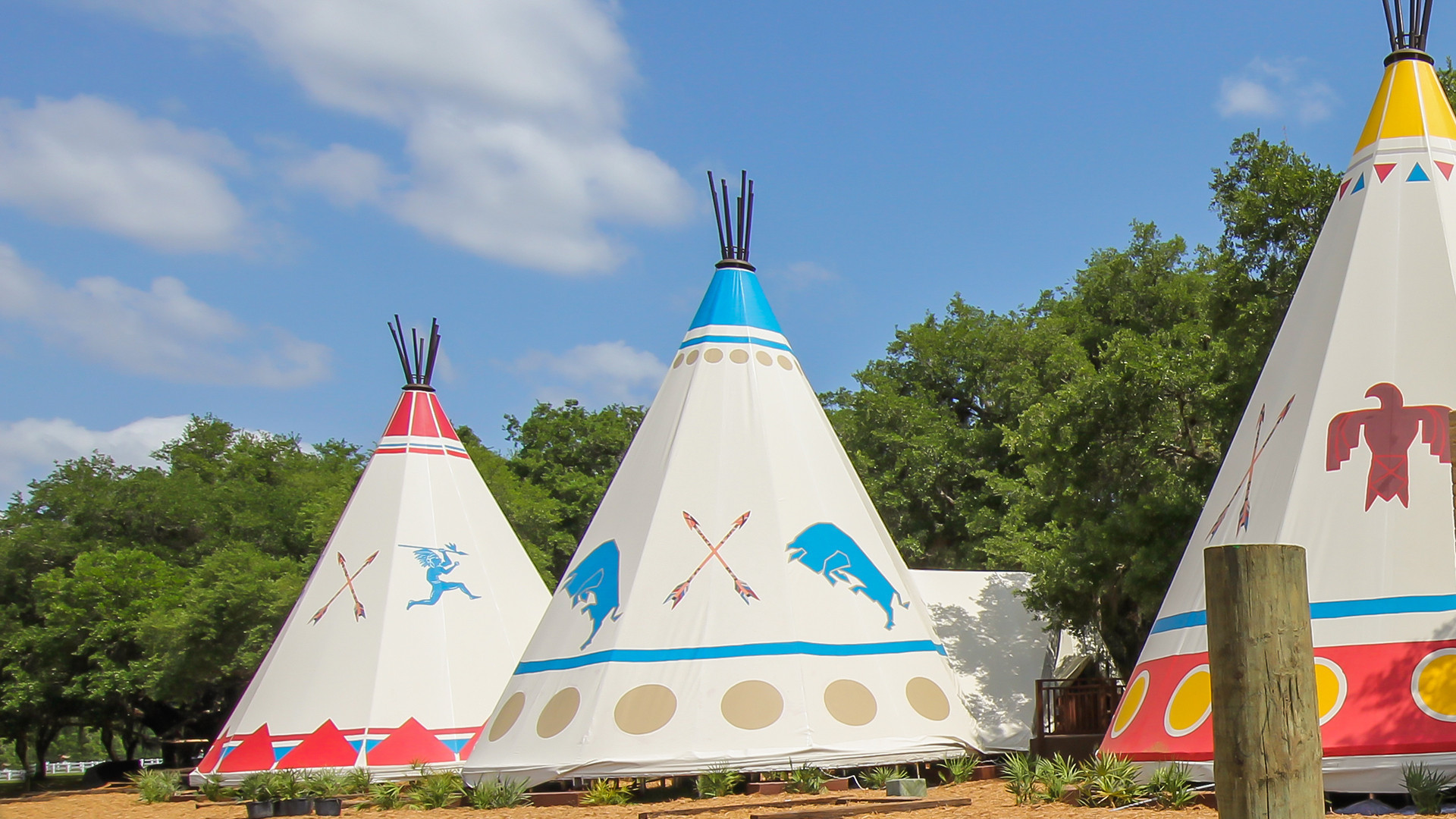 Teepee Resort Camping at Westgate River Ranch Resort & Rodeo | Tipi Camping | Westgate Resorts