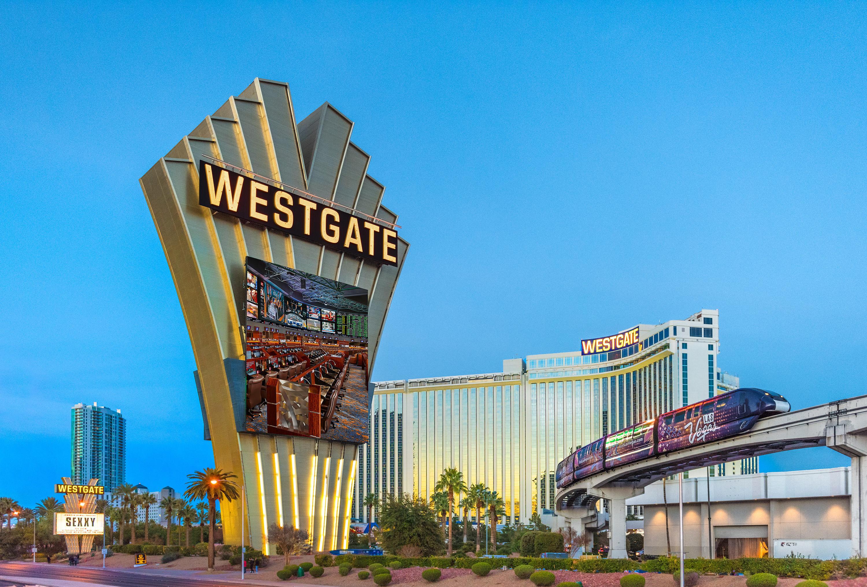 Las Vegas Monorail near our Las Vegas Hotel and Casino   Las Vegas Monorail at Westgate Las Vegas