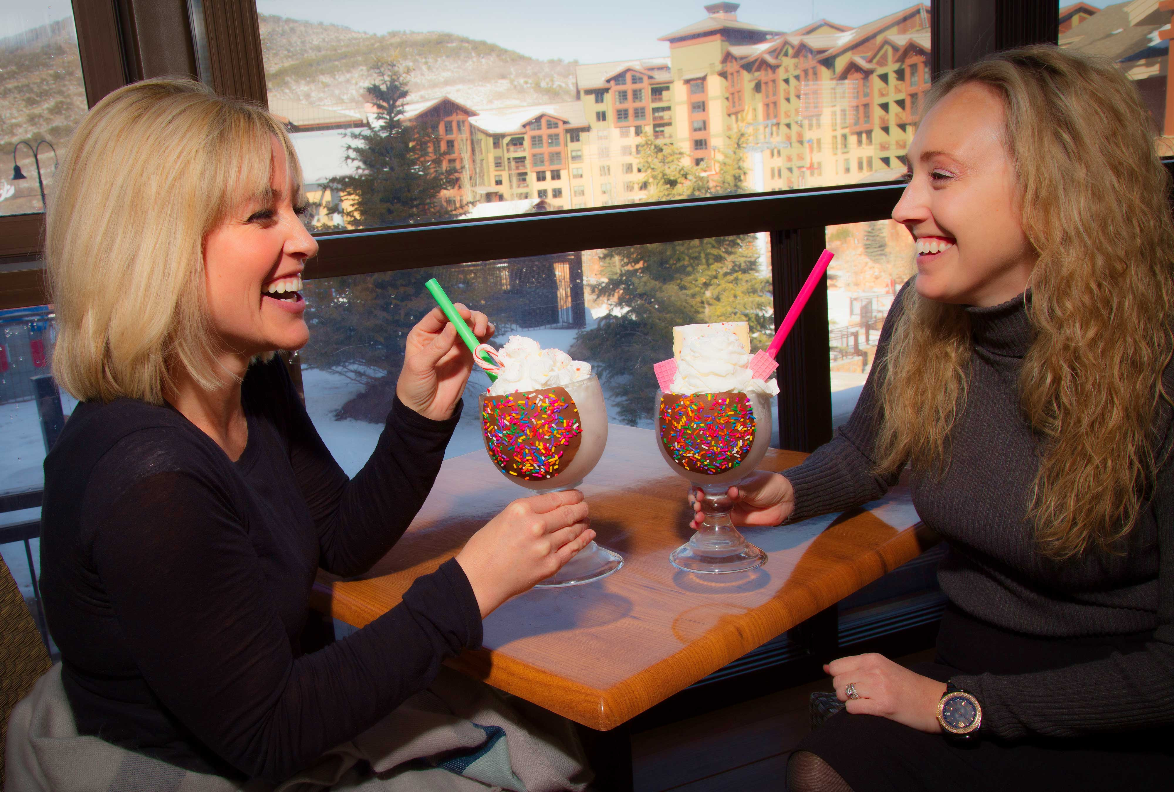 Dessert at Drafts Burger Bar at our Canyons Park City Resort in Utah | Westgate Park City Resort & Spa | Westgate Resorts