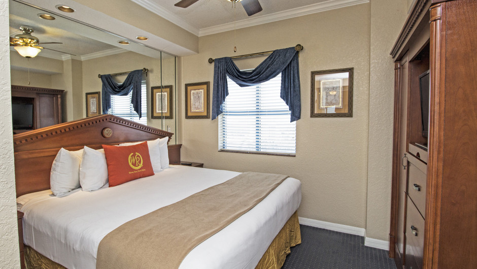 Bedroom | Two-Bedroom Villa | Westgate Palace Resort | Orlando, FL | Westgate Resorts