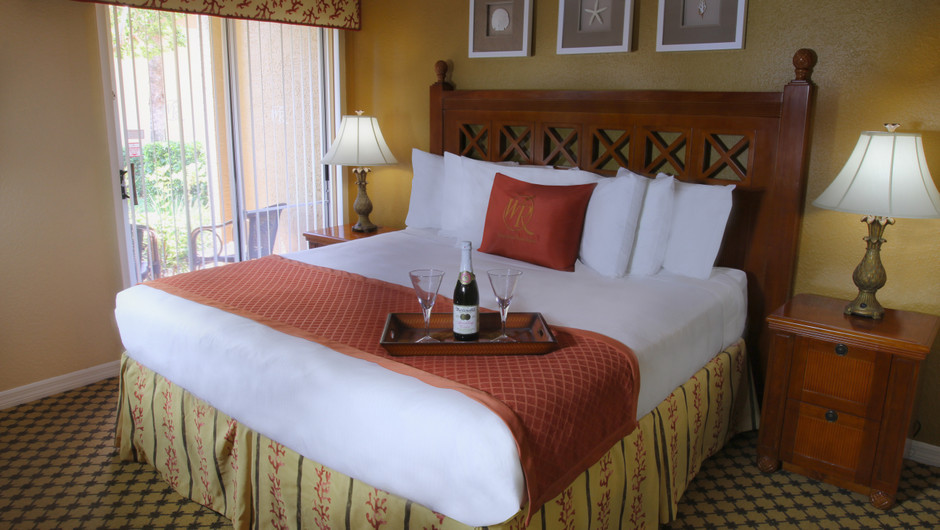 Bed in Two-Bedroom Deluxe Villa | Westgate Blue Tree Resort | Westgate Resorts Orlando