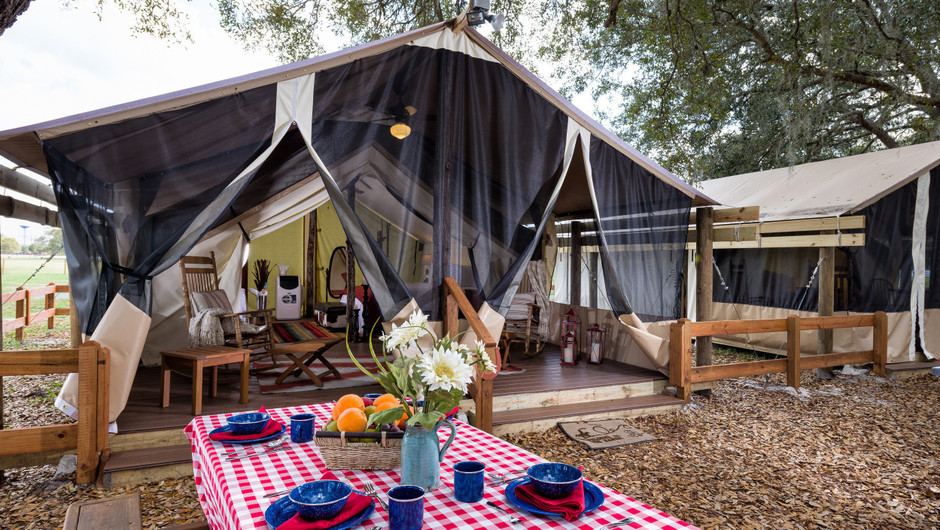 Picnic While Glamping |  Westgate River Ranch Resort & Rodeo | Westgate Resorts