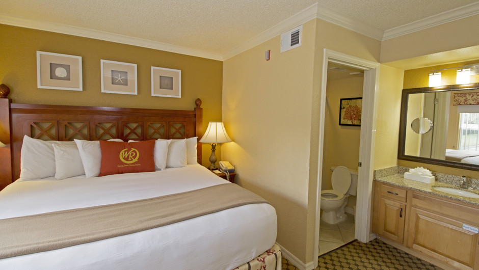 Bed in Two-Bedroom Villas at our Orlando resorts | Westgate Blue Tree Resort | Westgate Resorts Orlando