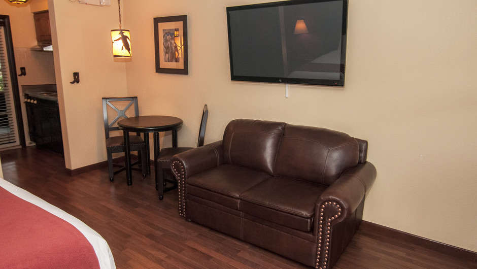 Rustic Furnishings in the Lodge Suite    Westgate River Ranch Resort & Rodeo   Westgate Resorts