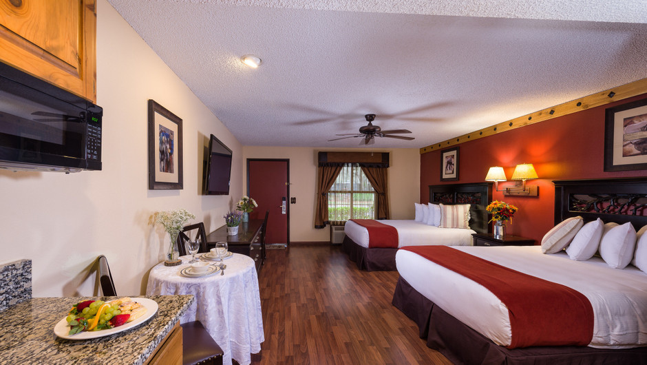 Two Beds in Deluxe Lodge Suite    Westgate River Ranch Resort & Rodeo   Westgate Resorts