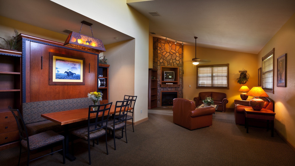 Saddle Club Two-Bedroom Cabin    Westgate River Ranch Resort & Rodeo   Westgate Resorts