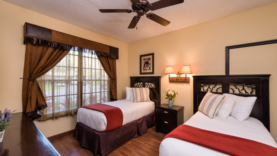 2 Beds in Lodge Two-Bedroom Cottage    Westgate River Ranch Resort & Rodeo   Westgate Resorts