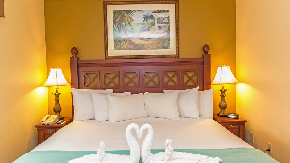 Bed in Two-Bedroom Villa at one of our leisure resorts near Seaworld Orlando FL | Westgate Leisure Resort | Westgate Resorts