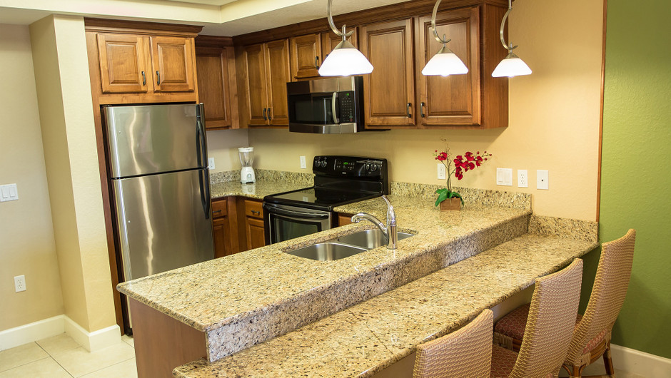 Kitchen for One-Bedroom Deluxe Villa in Orlando, FL | Westgate Lakes Resort & Spa | Westgate Resorts