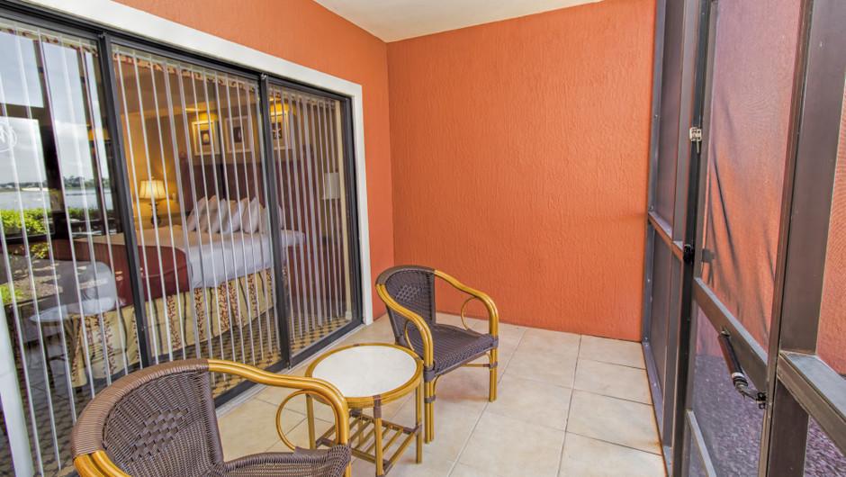 Patio, Studio Villa in Orlando, FL | Westgate Lakes Resort & Spa | Westgate Resorts