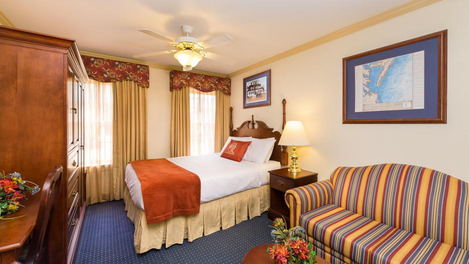 Studio at our resorts in Williamsburg VA | Westgate Historic Williamsburg Resort | Westgate Resorts