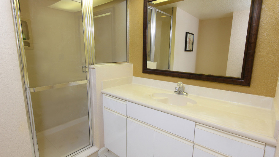Studio Villa Bathroom | Westgate Vacation Villas Resort & Spa | Orlando, FL | Westgate Resorts
