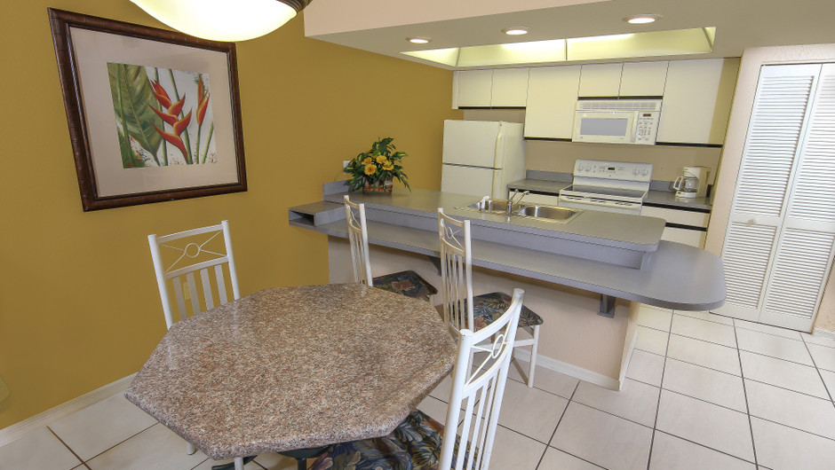 One-Bedroom Villa Dining and Kitchen Area | Westgate Vacation Villas Resort & Spa | Orlando, FL | Westgate Resorts