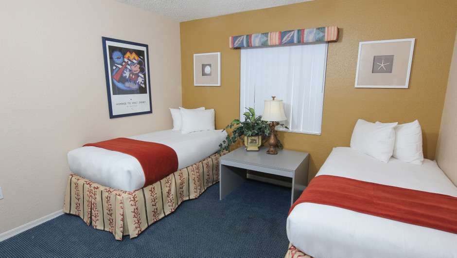 Bedroom in 2 bedroom suite in Orlando, FL | Westgate Vacation Villas Resort & Spa | Orlando, FL | Westgate Resorts