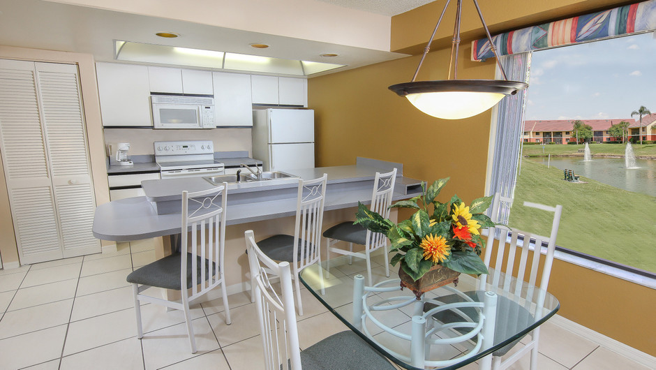 Kitchen Area of 2 bedroom suite in Orlando, FL | Westgate Vacation Villas Resort & Spa | Orlando, FL | Westgate Resorts