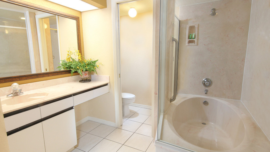 Two-Bedroom Deluxe Villa Bathroom | Westgate Vacation Villas Resort & Spa | Orlando, FL | Westgate Resorts