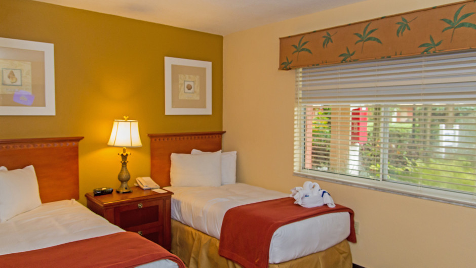 Beds in 2 Bedroom Villa at one of our leisure resorts near Seaworld Orlando FL | Westgate Leisure Resort | Westgate Resorts