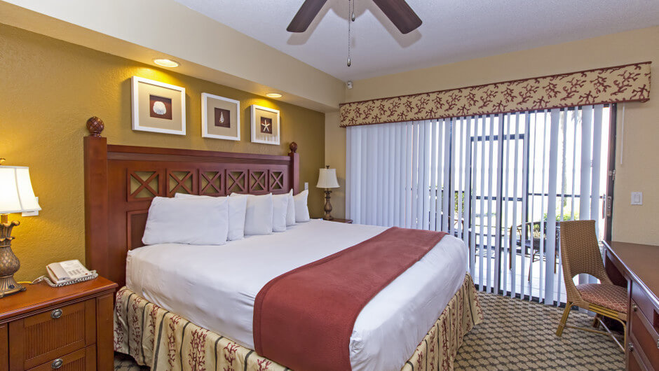 Bed in Three-Bedroom Villa in Orlando, FL | Westgate Lakes Resort & Spa | Westgate Resorts