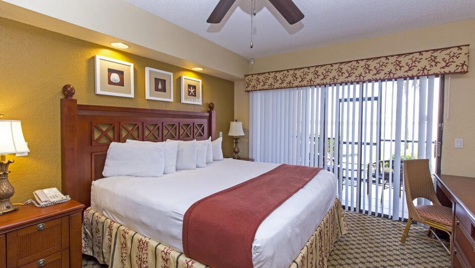 Bed in Three-Bedroom Villa in Orlando, FL | Westgate Lakes Resort & Spa | Westgate Resorts