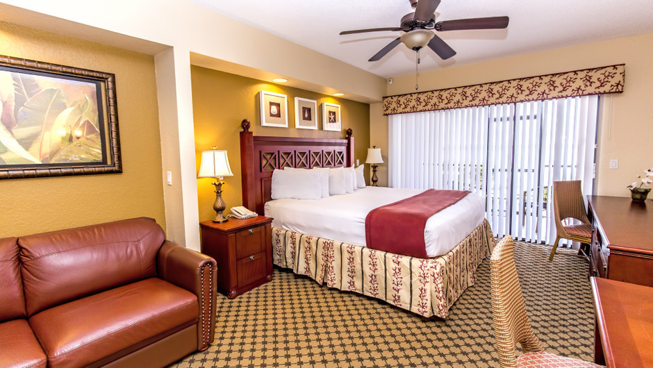 View of bedroom at Four-Bedroom Villa in Orlando, FL | Westgate Lakes Resort & Spa | Westgate Resorts