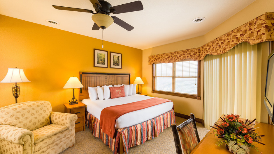 4 Bedroom Suites at Our Gatlinburg Resort near the Smoky Mountains | Spacious Bedroom