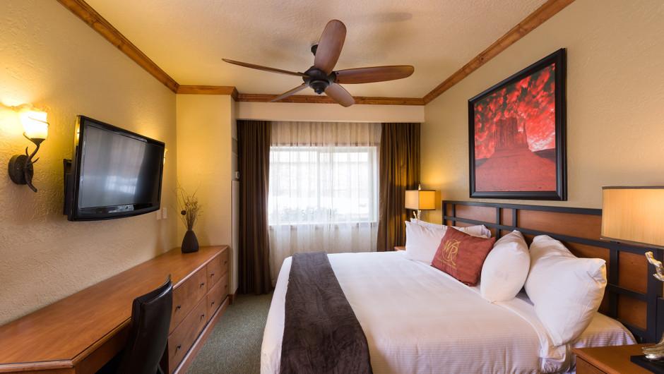 Signature One-Bedroom Villa Bed View at our Park City Ski Resort in Utah | Westgate Park City Resort & Spa | Westgate Ski Resorts