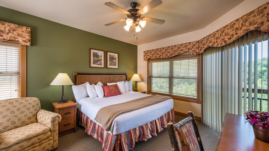 Bed in One Bedroom Grand Villa in our Branson Villas | Westgate Branson Woods Resort | Westgate Resorts
