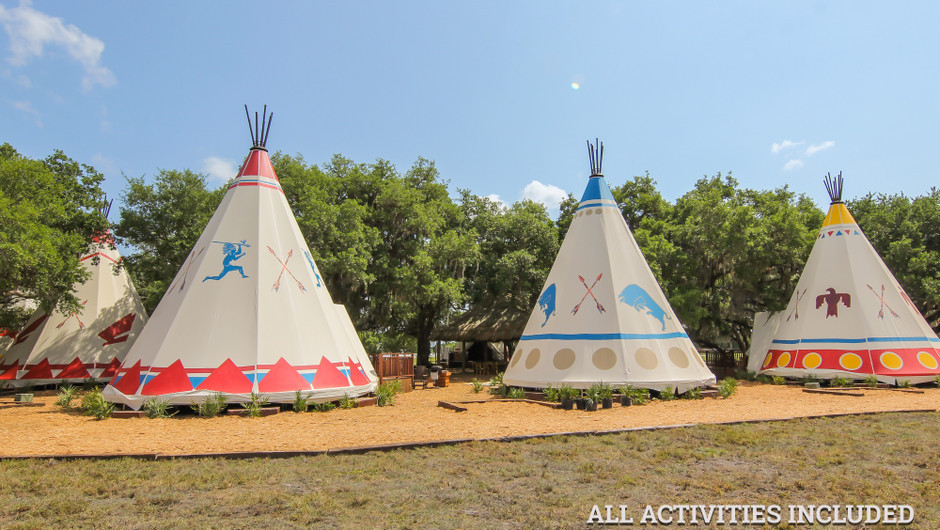 Luxe Teepee Room for Glamping    Westgate River Ranch Resort & Rodeo   Westgate Resorts