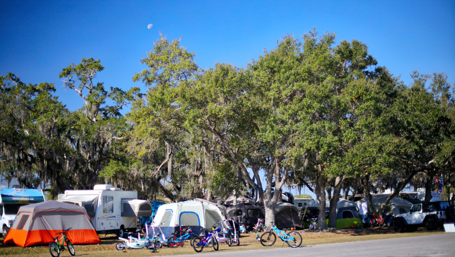 Tent Camping area - Westgate River Ranch Resort & Rodeo