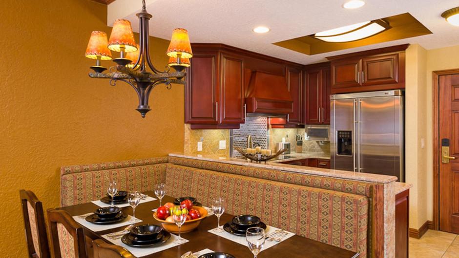 Luxury One-Bedroom Villa Kitchen in our Park City Ski Resort in Utah | Westgate Park City Resort & Spa | Westgate Ski Resorts