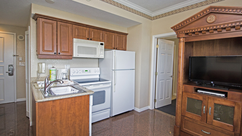 Kitchen Area | Two-Bedroom Villa | Westgate Palace Resort | Orlando, FL | Westgate Resorts