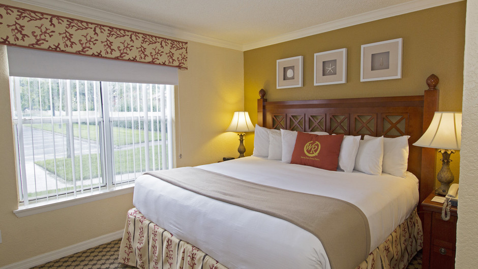 Bed in Two-Bedroom Villa at our Orlando resorts | Westgate Blue Tree Resort | Westgate Resorts Orlando