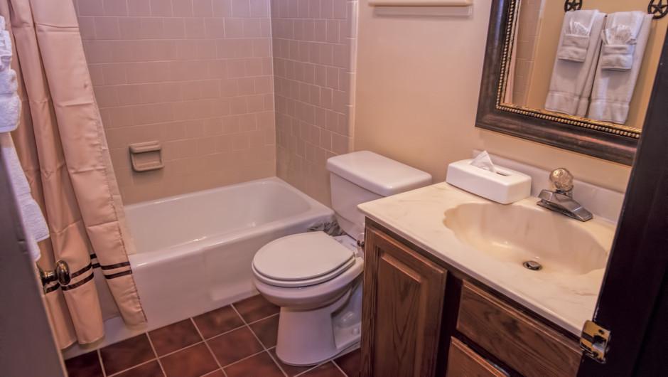 Bathroom in Lodge Suite    Westgate River Ranch Resort & Rodeo   Westgate Resorts