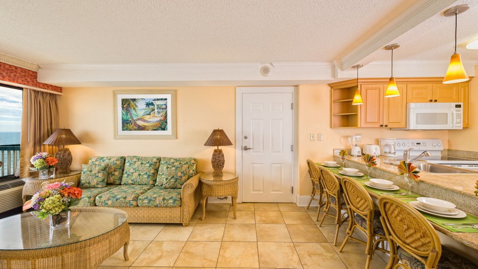 Two-Bedroom Oceanfront Villa | Westgate Myrtle Beach Oceanfront Resort | Westgate Resorts & Condos in Myrtle Beach