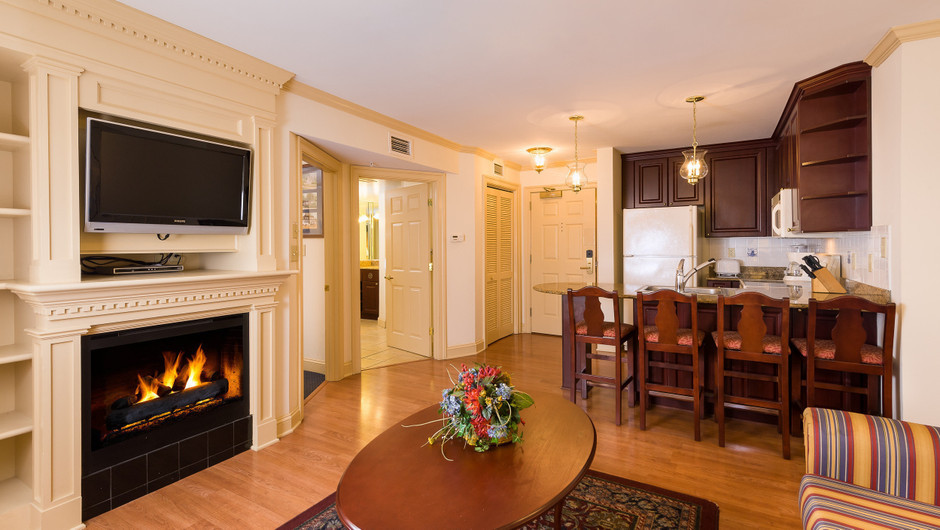 One Bedroom Villa at our resorts in Williamsburg VA | Westgate Historic Williamsburg Resort | Westgate Resorts