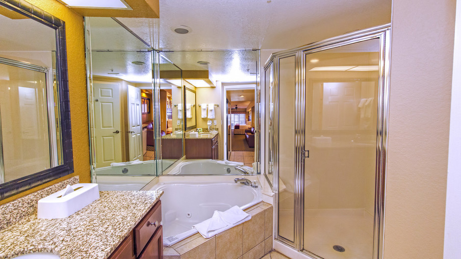 Bathroom at Four-Bedroom Villa in Orlando, FL | Westgate Lakes Resort & Spa | Westgate Resorts