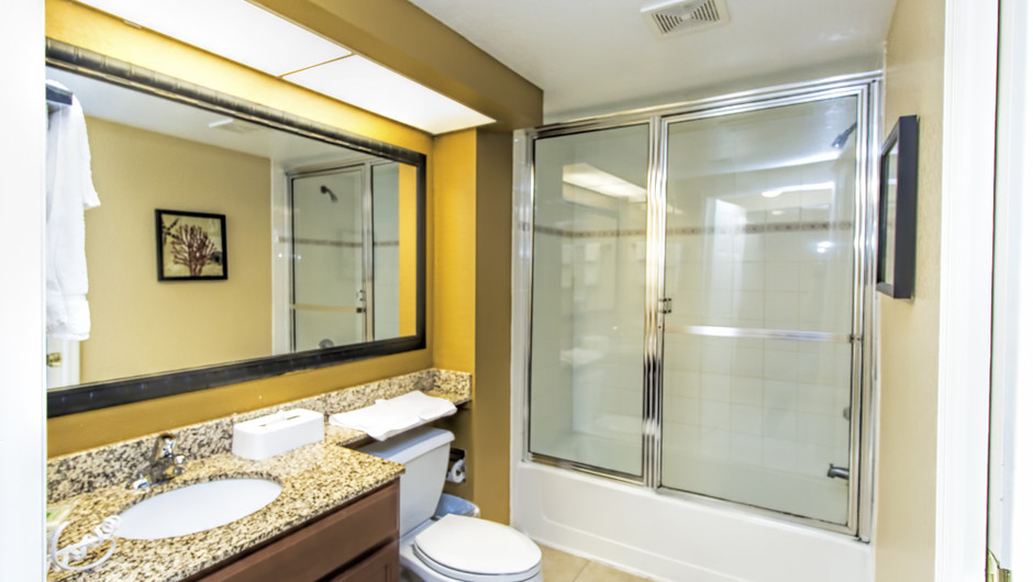 Bathroom in Four-Bedroom Villa in Orlando, FL | Westgate Lakes Resort & Spa | Westgate Resorts