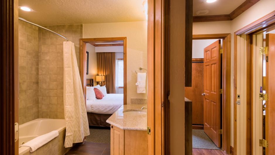 Bathroom at our Park City Resort in Utah | Westgate Park City Resort & Spa | Westgate Resorts