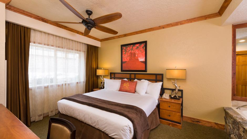 Signature One-Bedroom Villa Bedroom at our Park City Skiing Resort in Utah | Westgate Park City Resort & Spa | Westgate Ski Resorts