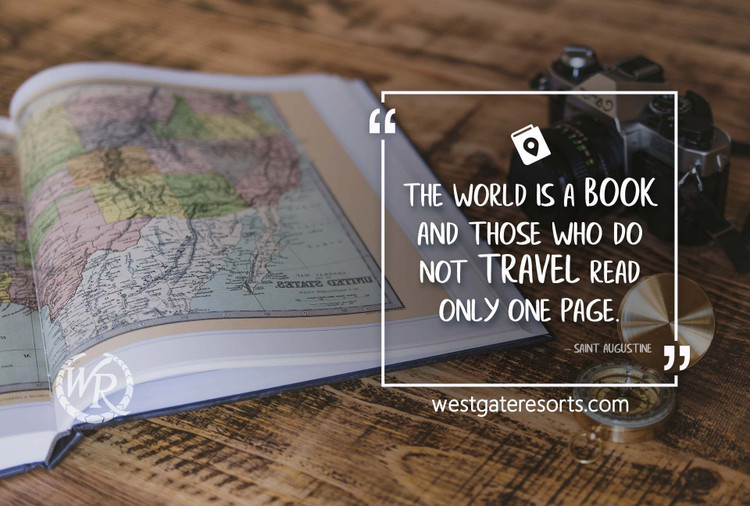 The World is a Book, and Those Who Do Not Travel Read Only One Page | St. Augustine | Motivational Travel Quotes