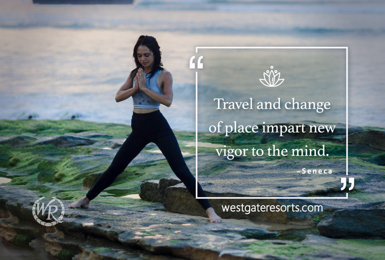 Travel and Change of Place Impart New Vigor to the Mind | Seneca | Motivational Travel Quotes