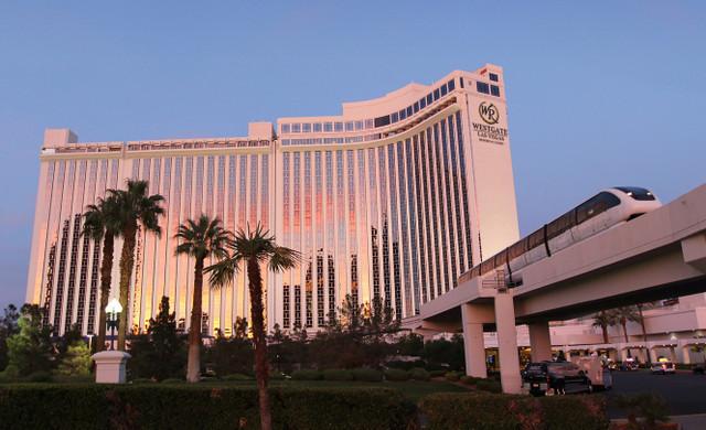 Mermaid Classes at our Las Vegas Hotel and Casino   Extteior of Westgate Las Vegas