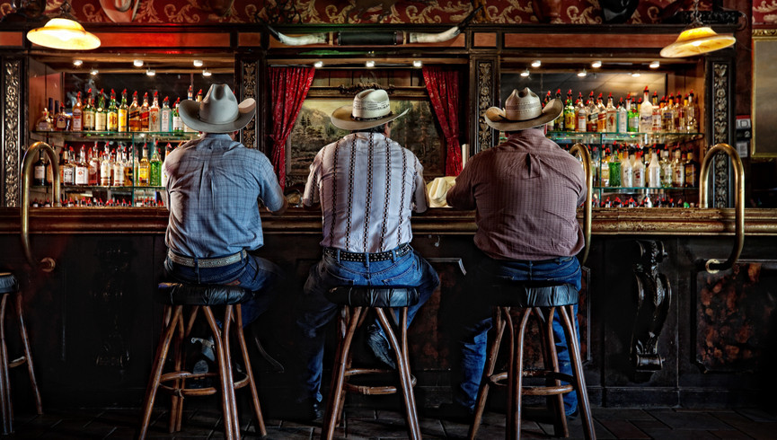 Dude Ranch in Florida | Bar at River Ranch Saloon