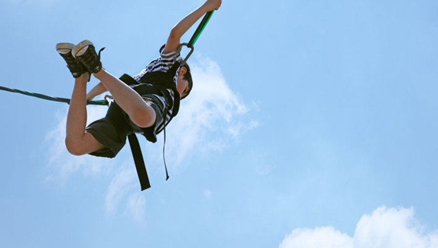 Bungee Jumping in River Ranch, FL |  Westgate River Ranch Resort & Rodeo | Westgate Resorts