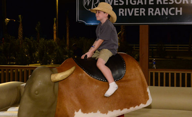 Mechanical Bull Near Orlando, FL |  Westgate River Ranch Resort & Rodeo | Westgate Resorts
