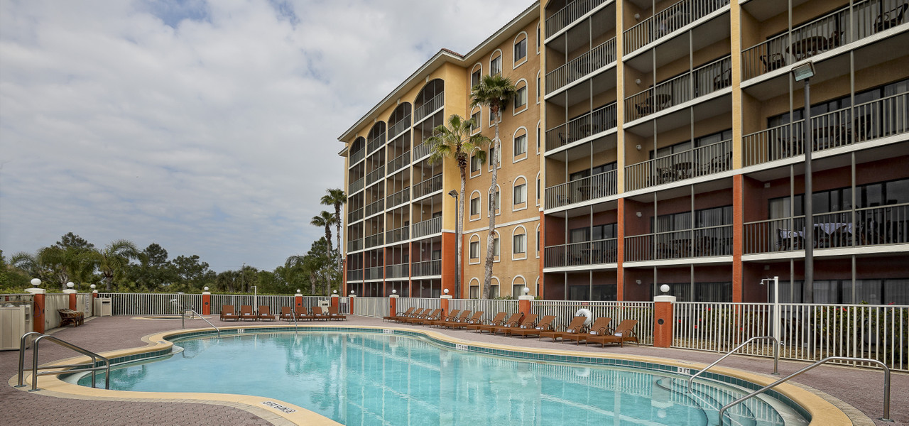 Courtesy Hotel Room Block For Weddings - Westgate Lakes Heated Outdoor Pool