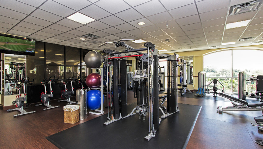 Fitness room near Disney Orlando at our Orlando resorts | Westgate Towers Resort | Westgate Resorts
